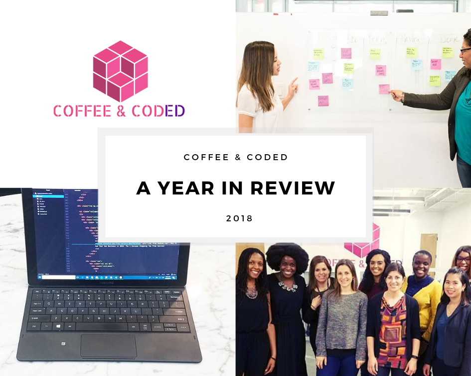 year in review 2018 coffee & coded